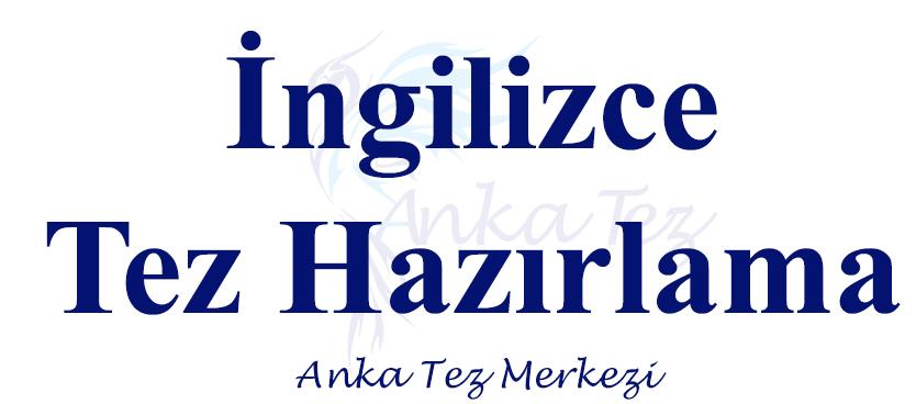 İngilizce Tez Hazırlama